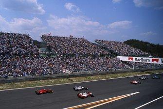 Start zum GP Pazifik 1994 in Aida