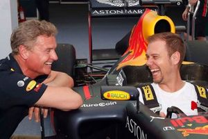 David Coulthard and Armin Van Buuren