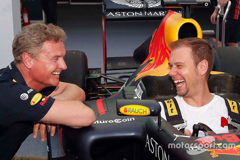 David Coulthard y Armin Van Buuren