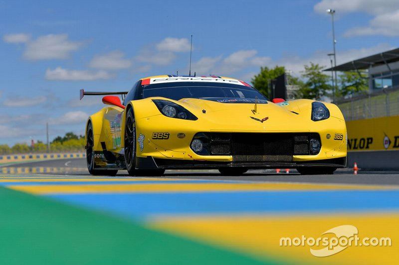 #63 Corvette Racing Chevrolet Corvette C7.R: Jan Magnussen, Antonio Garcia, Mike Rockenfeller