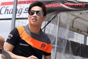 #55 Autobacs Racing Team Aguri Honda NSX GT3 Evo: Nirei Fukuzumi