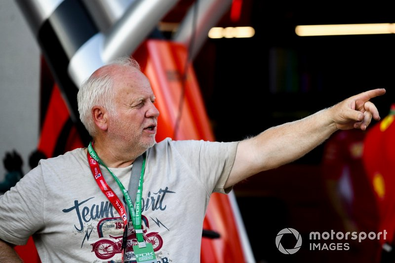 Норберт Феттель, отец гонщика Ferrari Себастьяна Феттеля