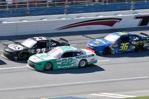 John Hunter Nemechek, GMS Racing, Chevrolet Camaro Fire Alarm Services, INC, Austin Cindric, Team Penske, Ford Mustang MoneyLion
