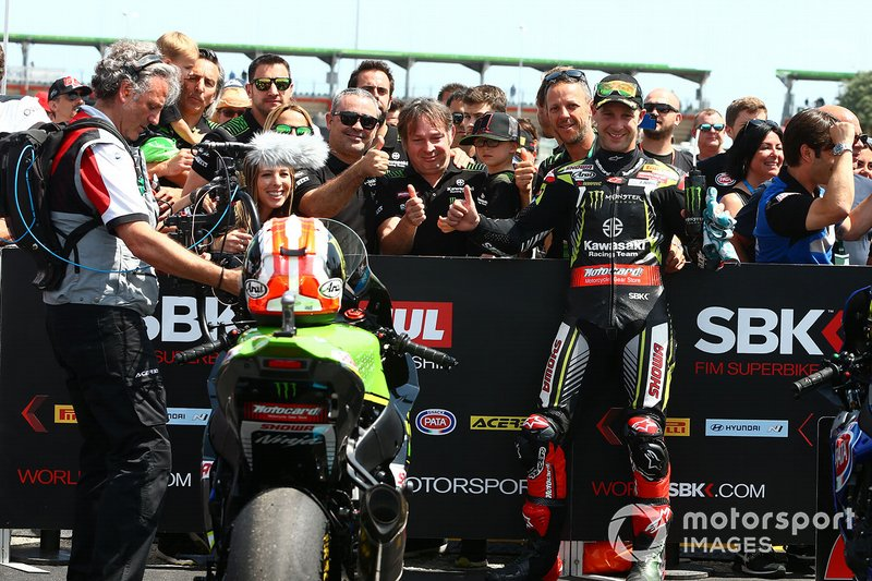 Jonathan Rea, Kawasaki Racing Team, conquista la pole position