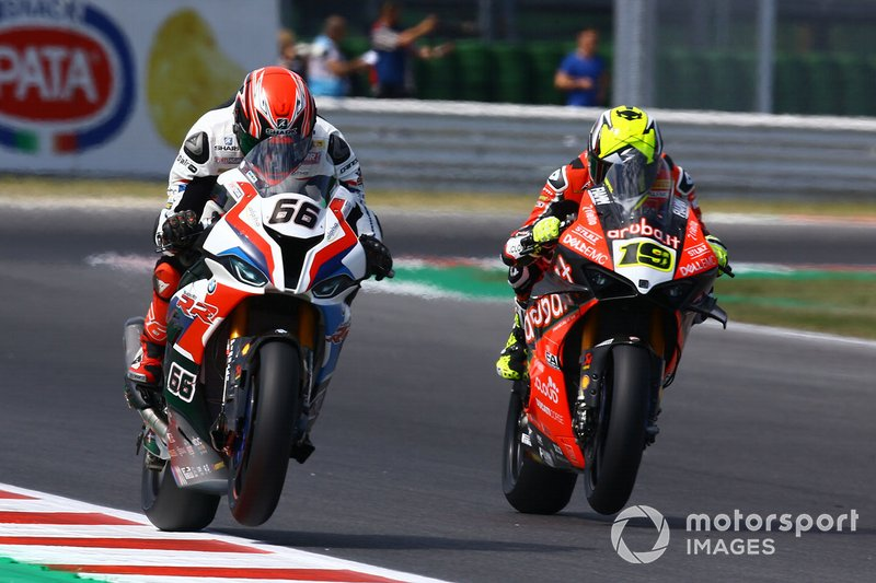 Tom Sykes, BMW Motorrad WorldSBK Team, Alvaro Bautista, Aruba.it Racing-Ducati Team