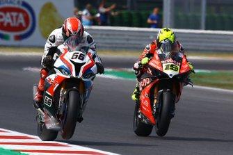Tom Sykes, BMW Motorrad WorldSBK Team, Alvaro Bautista, Aruba.it Racing-Ducati Team
