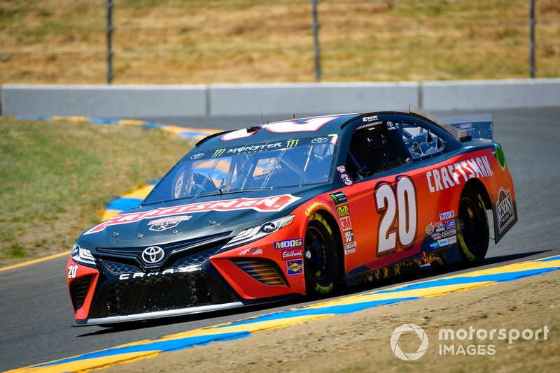 8. Erik Jones, Joe Gibbs Racing, Toyota Camry