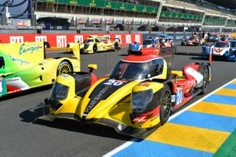 #20 High Class Racing Oreca 07 Gibson: Anders Fördbach, Denis Andersen, Mathias Beche
