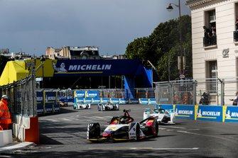 Lucas Di Grassi, Audi Sport ABT Schaeffler, Audi e-tron FE05, Tom Dillmann, NIO Formula E Team, NIO Sport 004