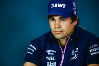 Lance Stroll, Racing Point in Press Conference