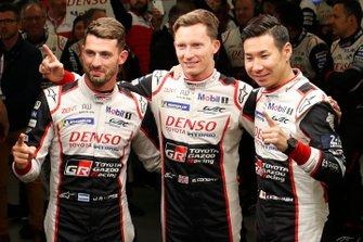 Polesitter: #7 Toyota Gazoo Racing Toyota TS050: Mike Conway, Kamui Kobayashi, Jose Maria Lopez