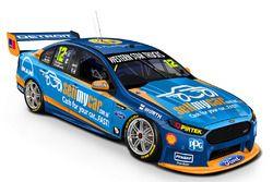 New livery for Fabian Coulthard, Luke Youlden, Team Penske Ford