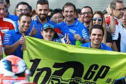 Tercer lugar, Maverick Viñales, Team Suzuki Ecstar MotoGP