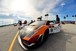 #9 MP1A Lamborghini Gallardo GT3 driven by Xandy Negrao of BRT