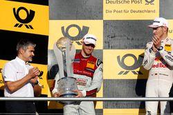 Şampiyonluk Podyumu: 2. Edoardo Mortara, Audi Sport Team Abt Sportsline, Audi RS 5 DTM.