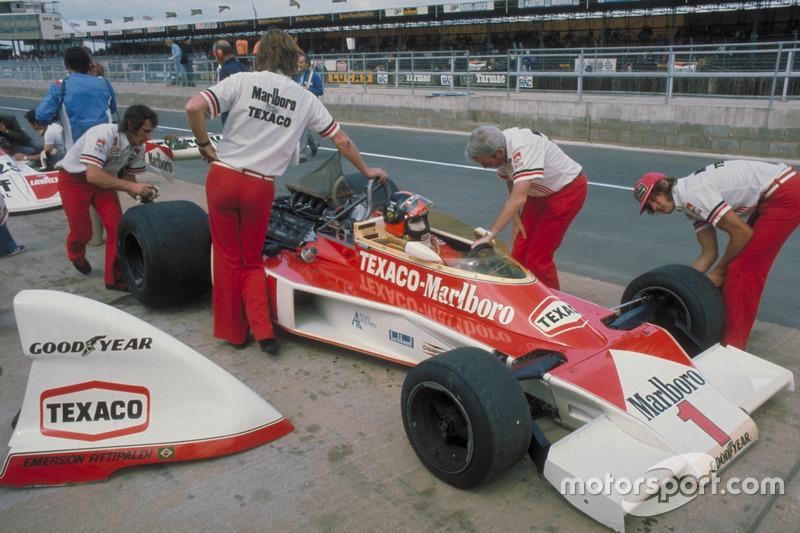 1975: Emerson Fittipaldi, McLaren M23