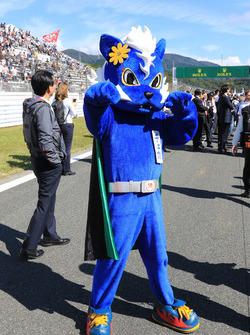 Maskottchen vom Fuji International Speedway