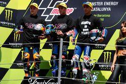 Brad Binder, Red Bull KTM Ajo, Jorge Navarro, Estrella Galicia 0,0, Enea Bastianini, Gresini Racing