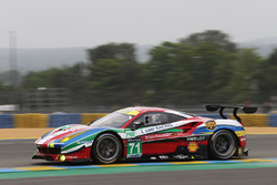 #71 AF Corse Ferrari 488 GTE: Давіде Рігон, Сем Бьорд, Андреа Бертоліні