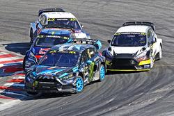 Andreas Bakkerud, Hoonigan Racing Division Ford, Timmy Hansen, Team Peugeot Hansen, Mattias Ekström,