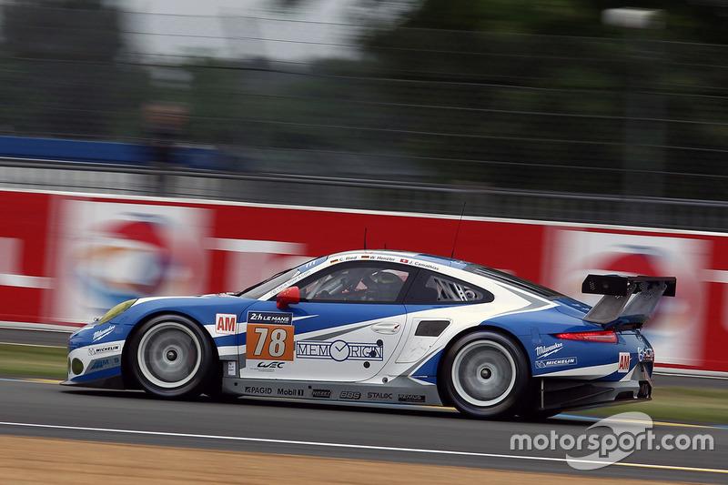 48: #78 KCMG Porsche 911 RSR: Christian Ried, Wolf Henzler, Joel Camathias