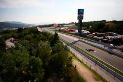 Max Verstappen, Red Bull Racing RB12 overtakes Jordan King, Manor Racing