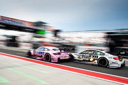 Lucas Auer, Mercedes-AMG Team Mücke, Mercedes-AMG C63 DTM and Tom Blomqvist, BMW Team RBM, BMW M4 DTM