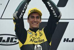 Podium: second place Alex Rins, Paginas Amarillas HP 40
