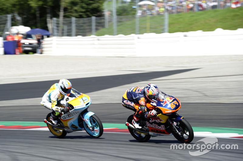 Bo Bendsneyder, Red Bull KTM Ajo, KTM; Gabriel Rodrigo, RBA Racing Team, KTM