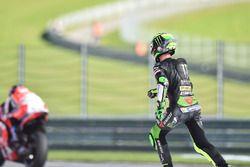 Pol Espargaro, Tech 3 Yamaha after his crash