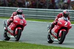 Carlos Checa, Yamaha Team and Max Biaggi, Yamaha Team