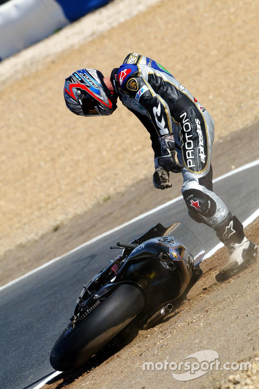 Crash, Jeremy McWilliams, Proton Team KR
