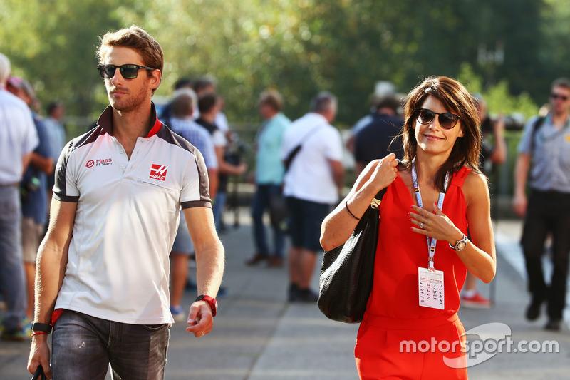 Marion Jollès - Romain Grosjean'ın eşi