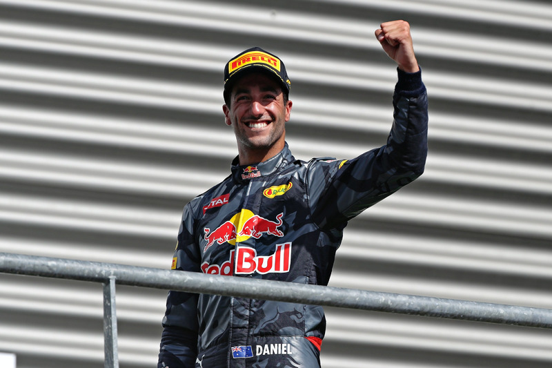Podium: Daniel Ricciardo, Red Bull Racing