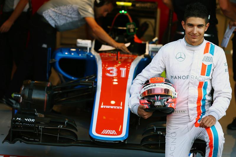 Esteban Ocon (2016 - GP België): 19 jaar, 11 maanden en 11 dagen