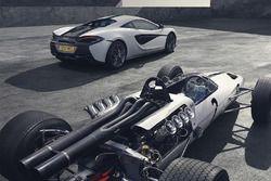 McLaren 570S M2B Edition y el McLaren M2B