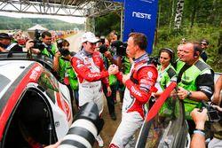 Winner Kris Meeke, Citroën DS3 WRC, Citroën World Rally Team, Craig Breen, Citroën World Rally Team