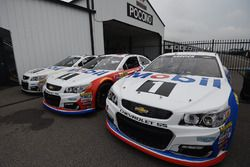 Mobil 1 paint schemes on Stewart-Haas Racing cars