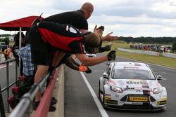 Race winner Mat Jackson, Motorbase Performance