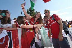Себастьян Феттель, Ferrari с фанатами