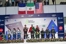 LMP2 podio: primer lugar Ricardo Gonzalez, Filipe Albuquerque, Bruno Senna, RGR Sport by Morand, seg