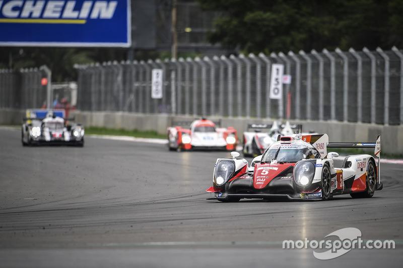 #5 Toyota Racing Toyota TS050 Hybrid: Sébastien Buemi, Kazuki Nakajima
