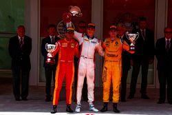 Podium : 1er Artem Markelov, RUSSIAN TIME, 2e Norman Nato, Racing Engineering, 3e Oliver Rowland, MP Motorsport