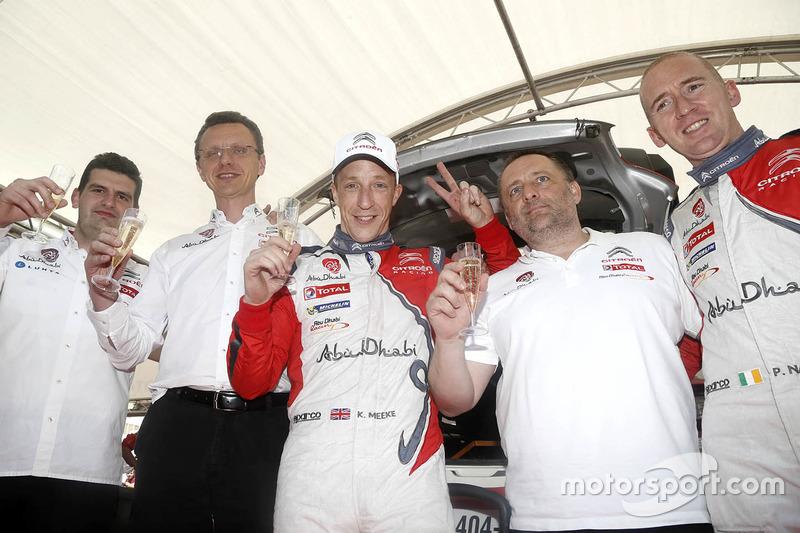 Vincitori: Kris Meeke, Paul Nagle, Citroën DS3 WRC, Citroën World Rally Team