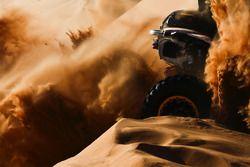 Acción en las dunas