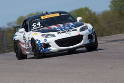 #54 Atlanta Motorsports Mazda MX-5: Patrick Gallagher