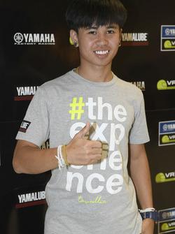 Peerapong Loiboonpeng, participant au Yamaha VR46 Master Camp
