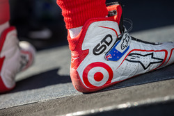 Schoenen van Scott Dixon, Chip Ganassi Racing Chevrolet