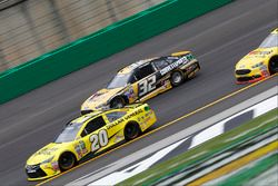 Jeffrey Earnhardt, Go Green Racing Ford, Matt Kenseth, Joe Gibbs Racing Toyota