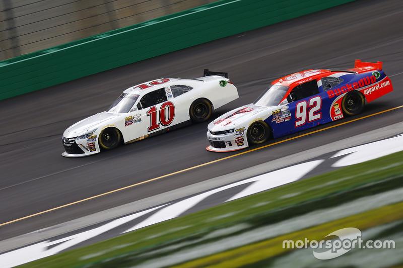 Matt DiBenedetto, Toyota, Dexter Bean, Chevrolet